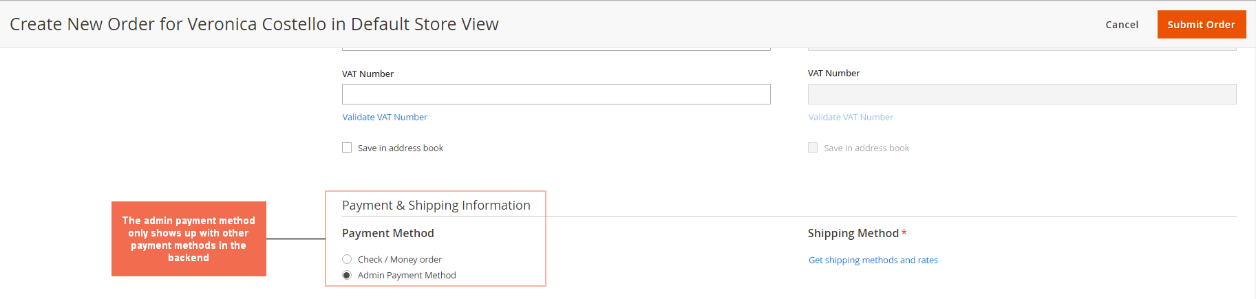 1._Magento_2_Admin_Payment_Method_Create_new_order
