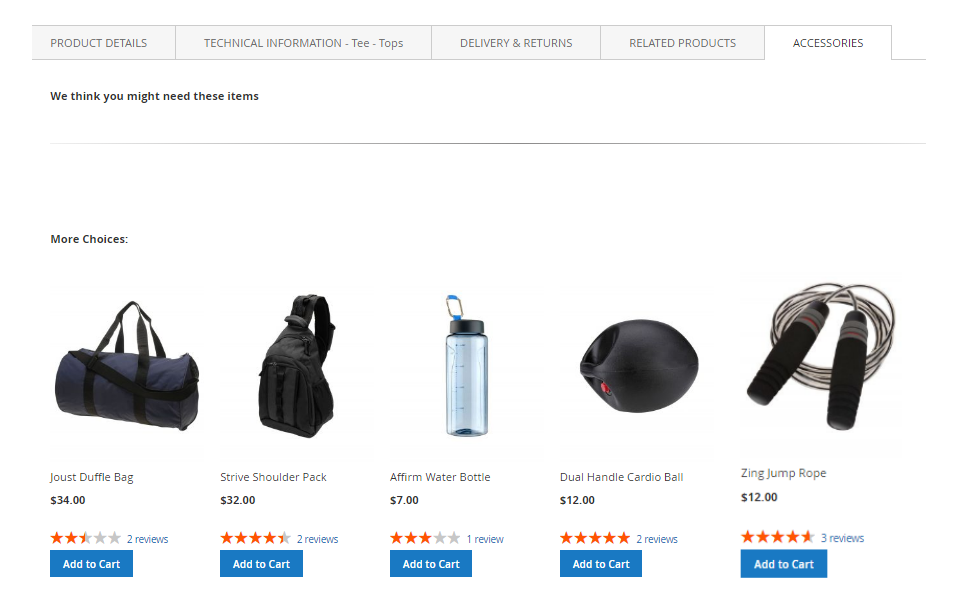 product tabs magento 2