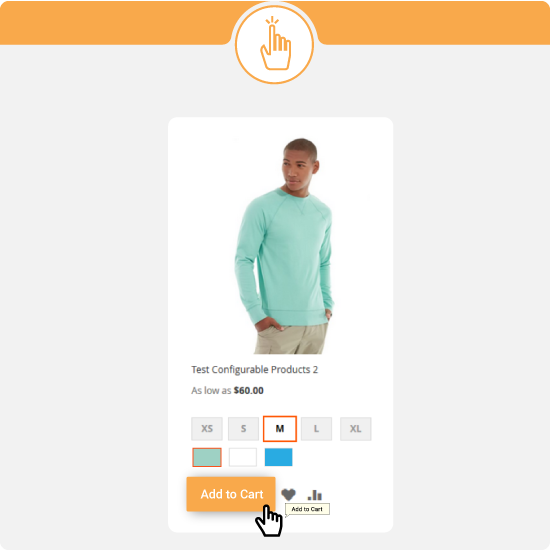 magento 2 ajaxcart - add to cart button