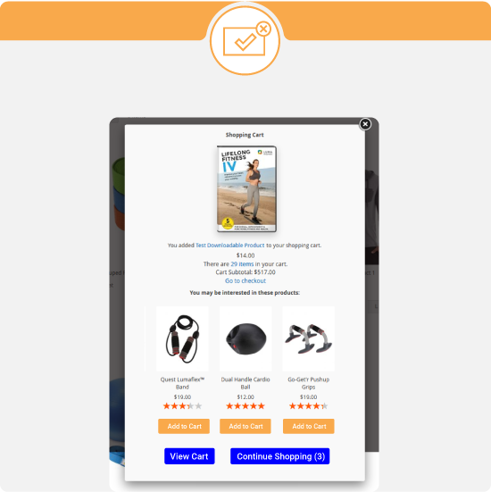 ajax cart magento 2-upsell-cross-sell-related