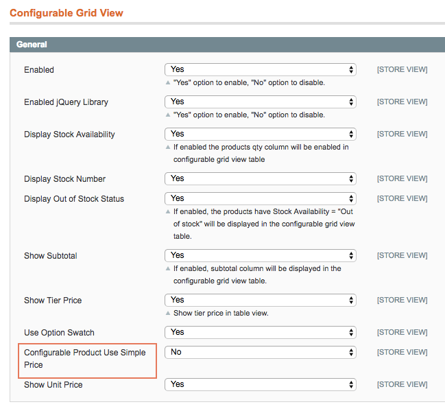 Allow admin customize convenient table with any number of attributes