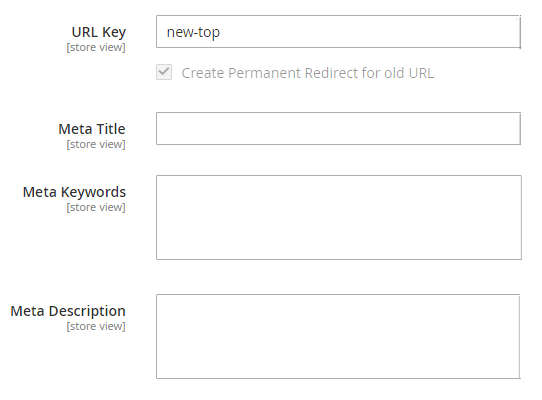 Magento 2 Duplicate Category/Copy Category Extension. Advanced feature: new url key for copied category