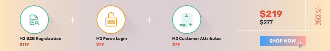 Magento 2 B2B Registration & Login