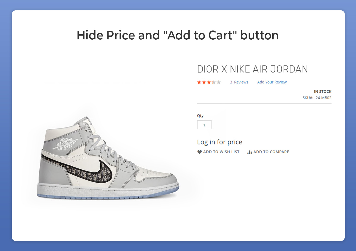 magento 2 hide price and hide add to cart