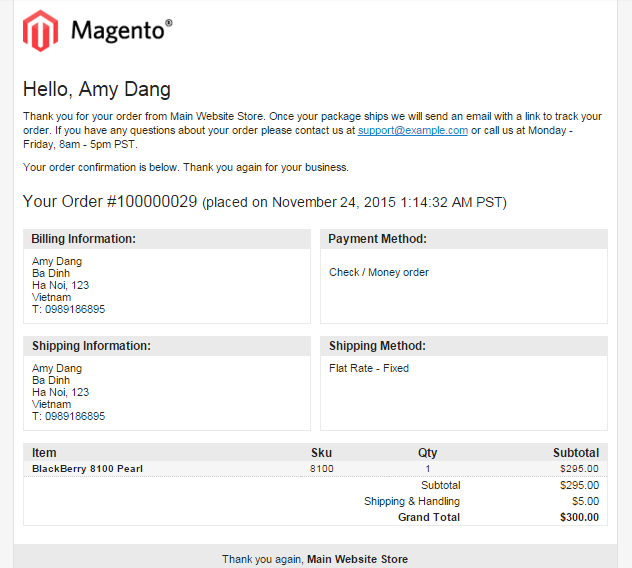 magento auto invoice email bsscommerce