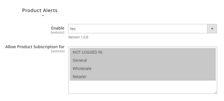 magento 2 notify me when in stock - product alerts