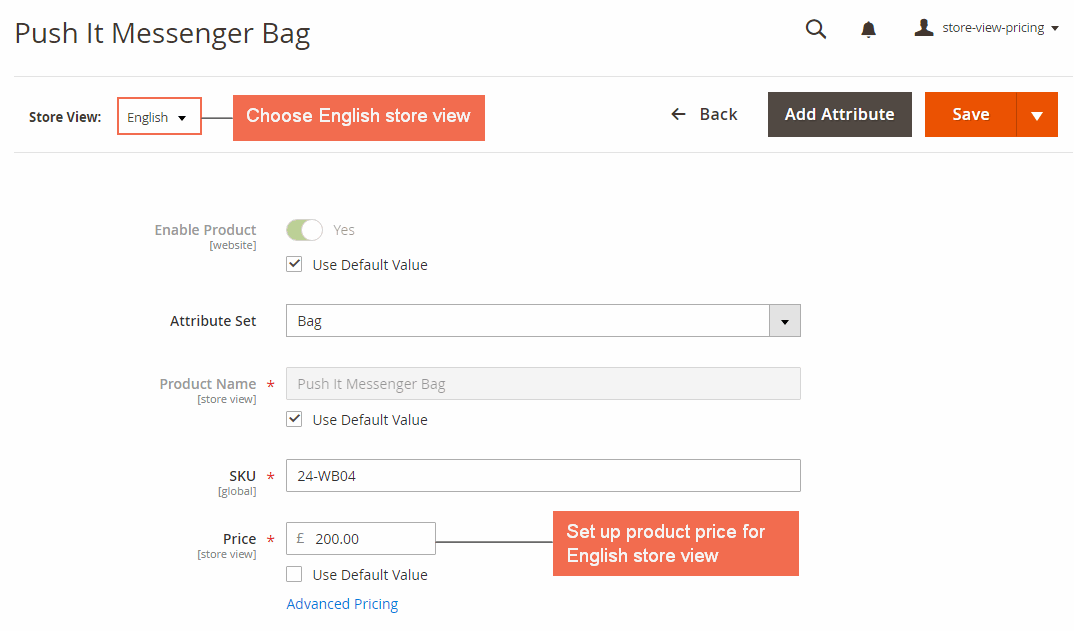 magento 2 storeview base prices-price settings in eng