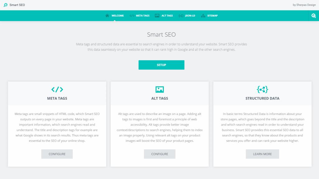 smart seo shopify