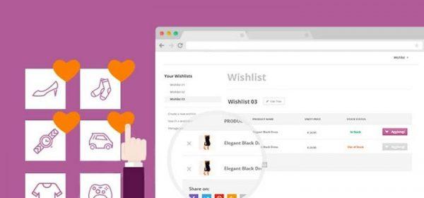 Defination of Shopify wishlist app