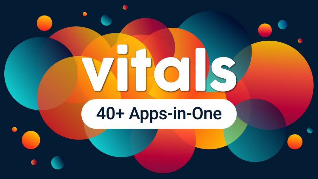 VITALS 40 Apps in One