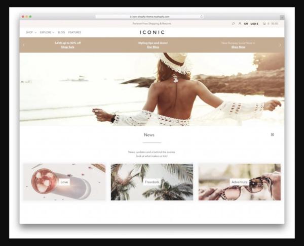 Icon Shopify Theme