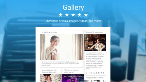 POWR Photo Gallery App