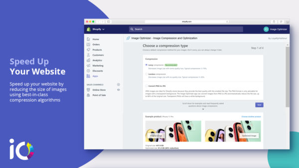 Image Optimizer Shopify Gallery App