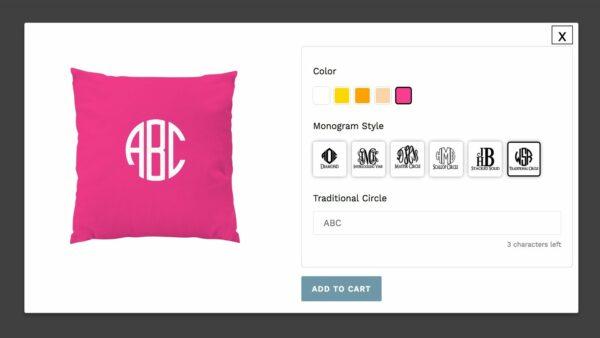 Theme for custom product
