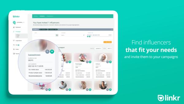 Linkr Shopify Influencer App