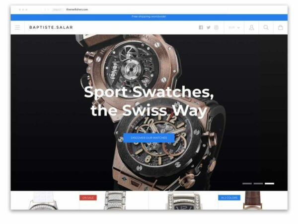 Kagami named as one of the best Shopify themes for jewellery