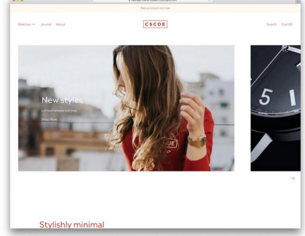 Cascade Shopify Theme For Jewellery