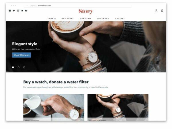 Story Shopify Theme