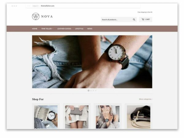 Supply is one the most popular Shopify theme for jewellery