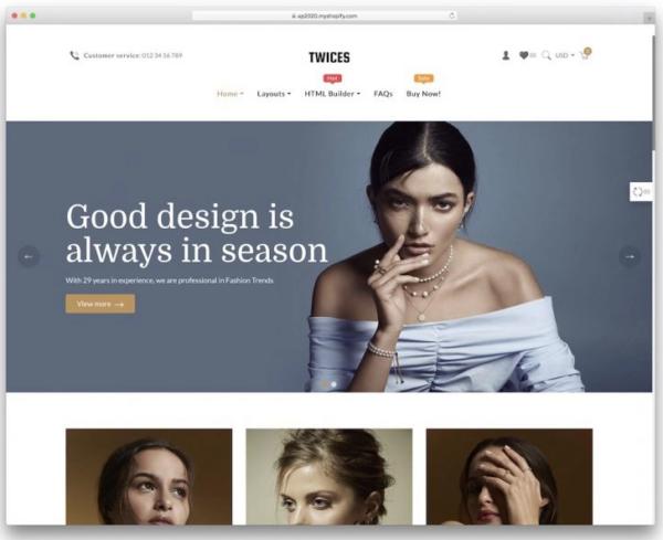 Ap Twices Shopify Theme