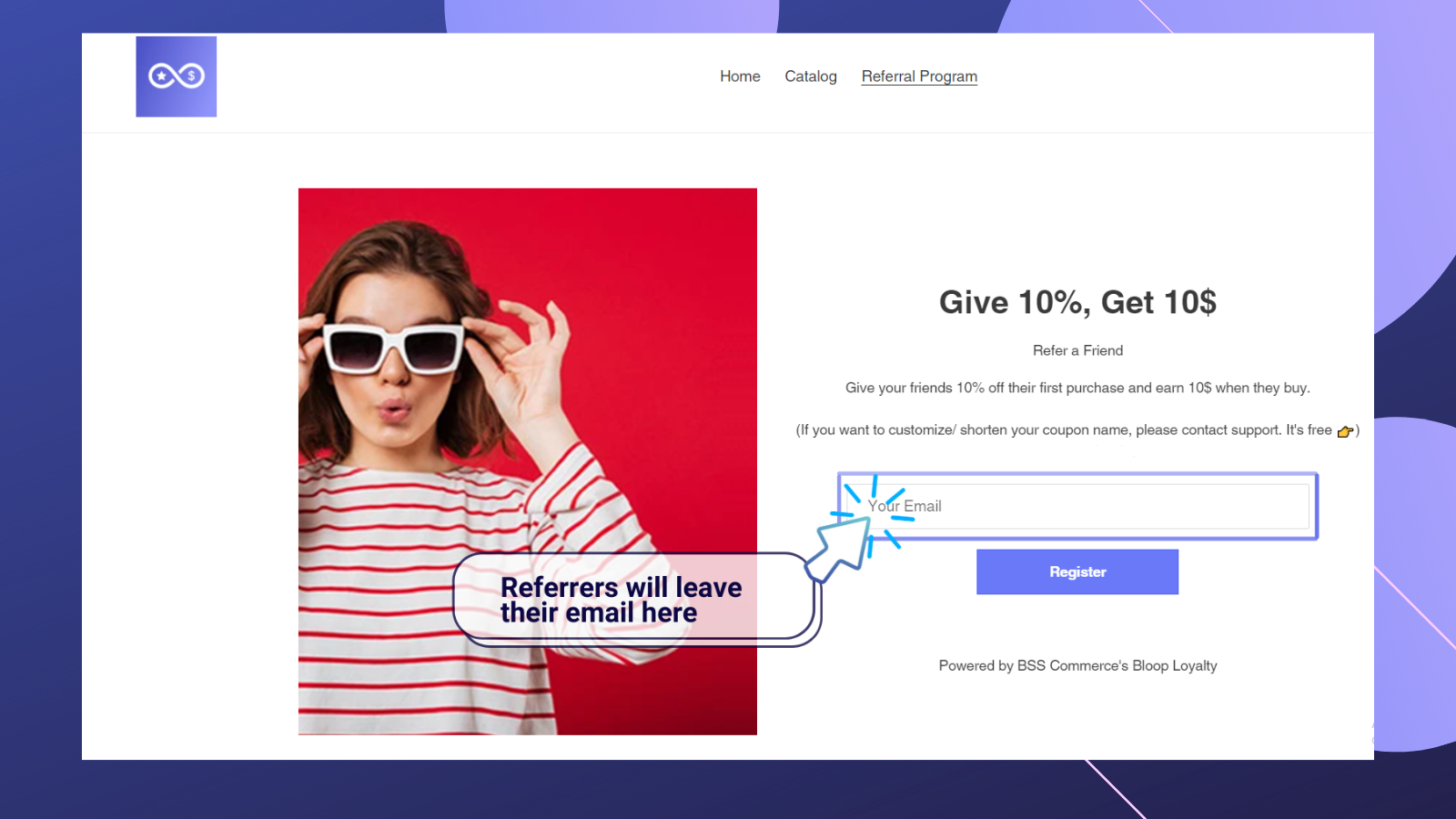 bloop-referral-program-app-storefront